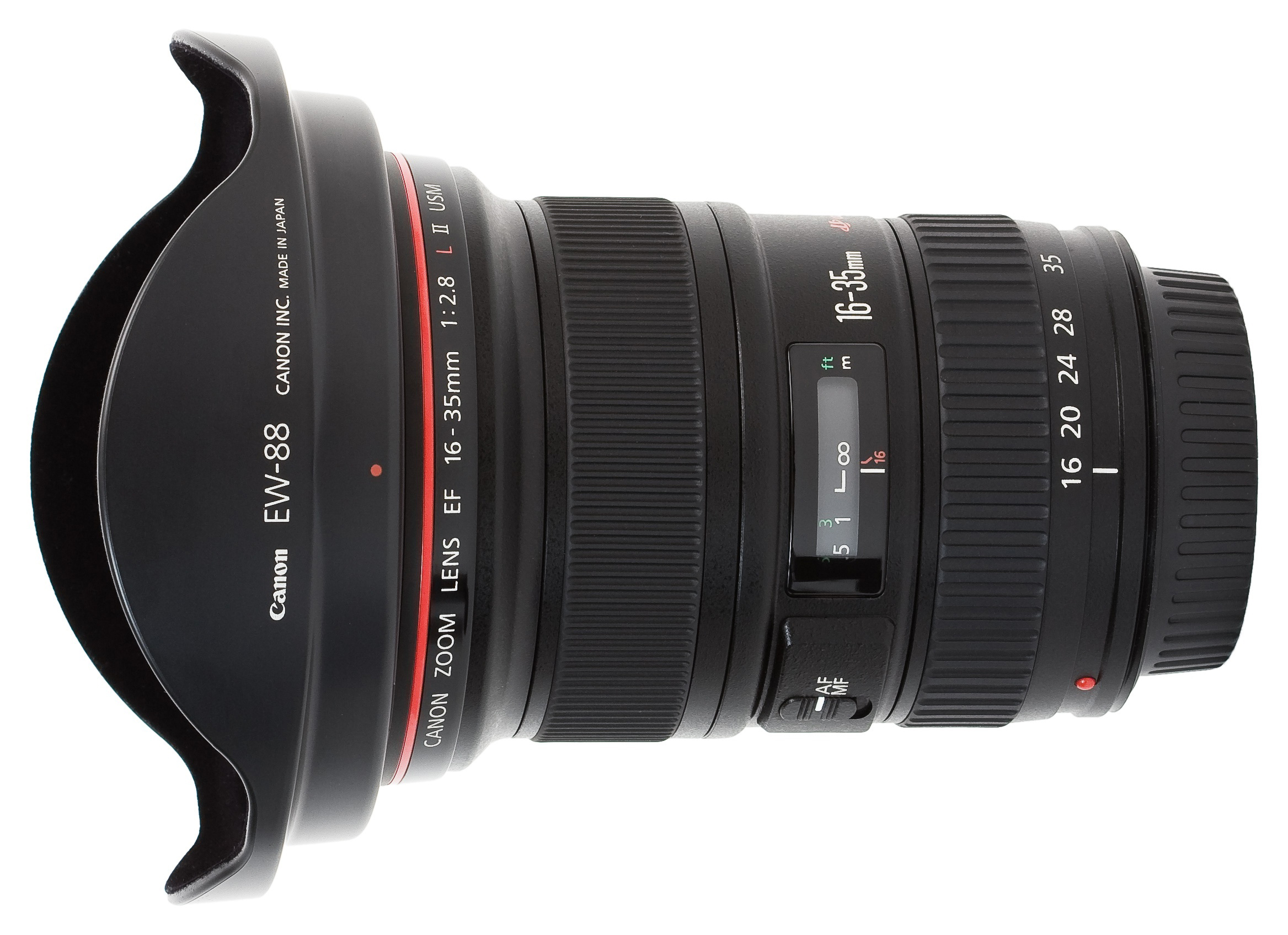 Canon EF 16 35mm f2.8L USM II Hooded