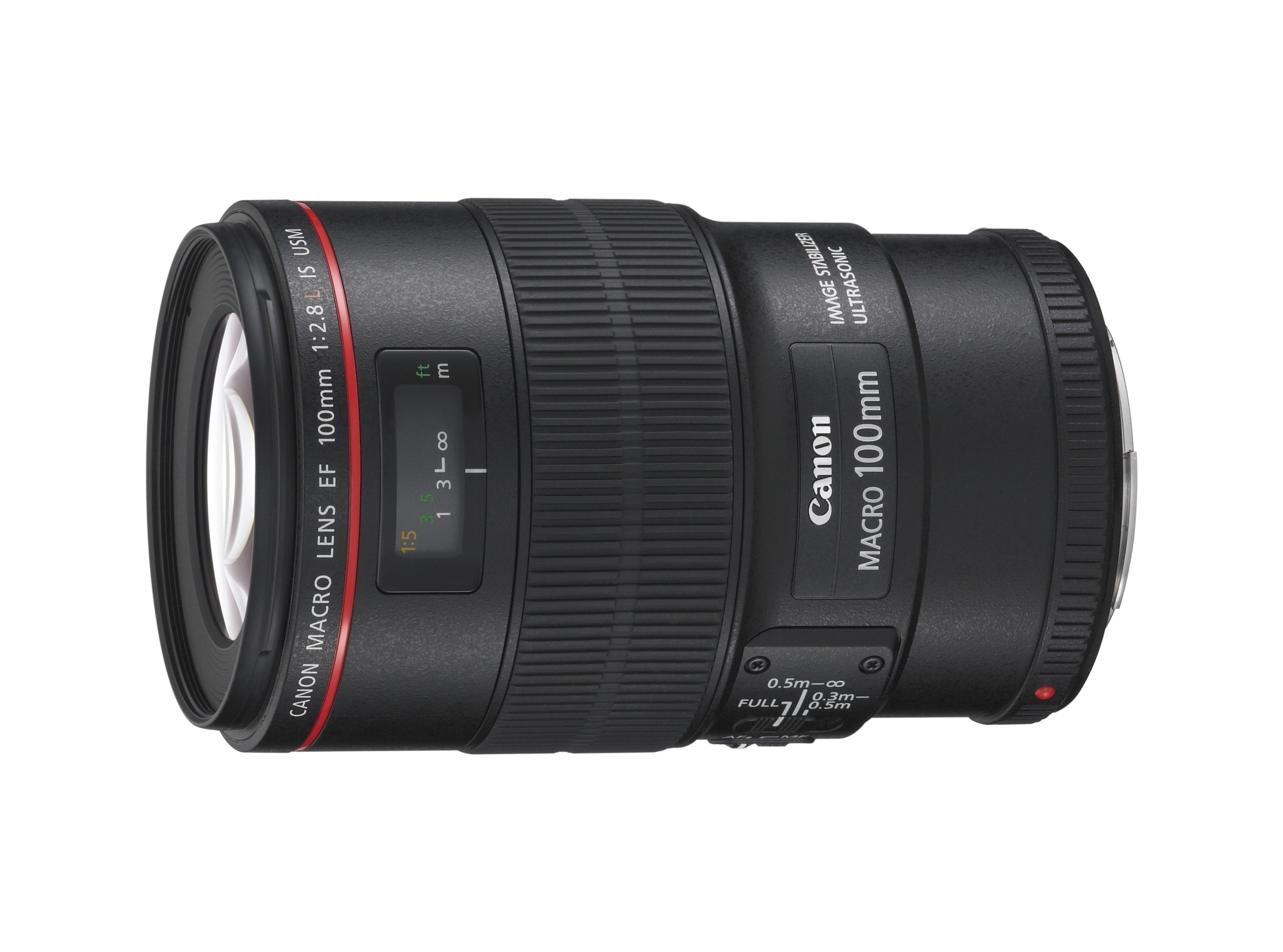 EF 100mm f2.8L Macro IS USM Slant without cap